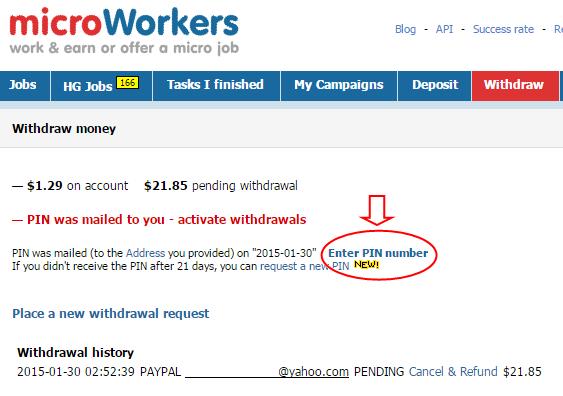[Provado] Microworkers - Faz tarefas e ganha dinheiro em troca!  - Página 4 EnterPIN