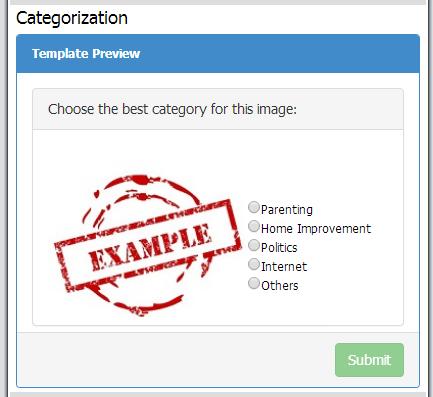 Image Caegorization