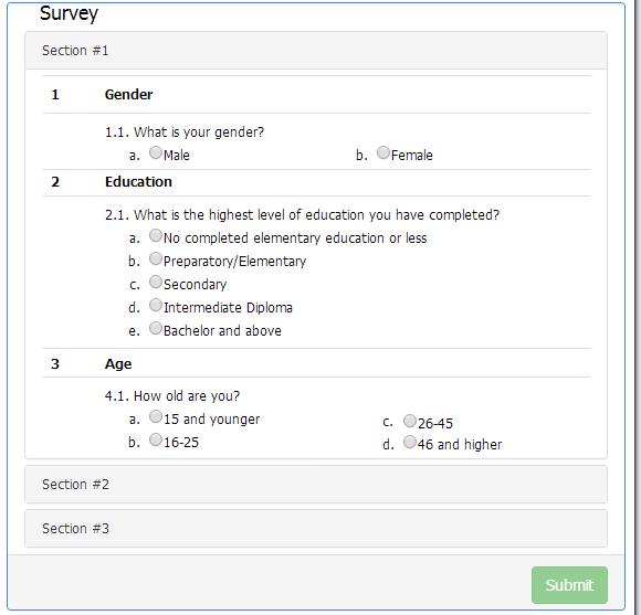 Survey Campaign