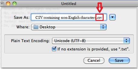 Excel 2016 Change Encoding