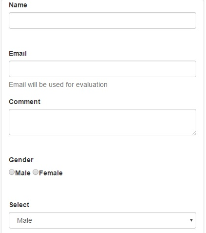 Template Form Builder From JSON Schema |